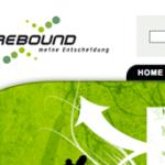Rebound Webseite