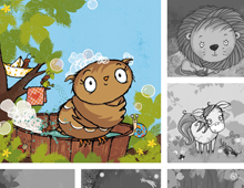 Webseite der Illustratorin Tanja Jacobs